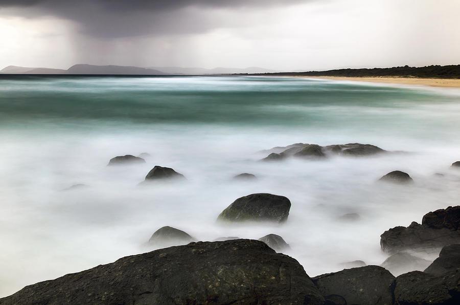 Beach Squall by Nicholas Blackwell