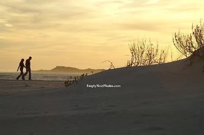 Beach Photograph - Beach Stroll by Cindy Wozniak