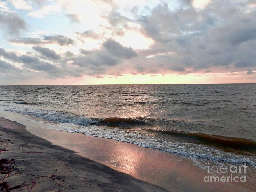 Beach sun rise  by Amanda Jane Kohler