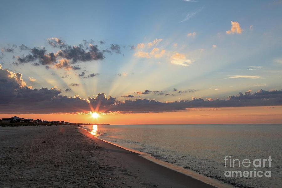 St. George Island Photograph - Beach Sunrise by Andrea Kappler