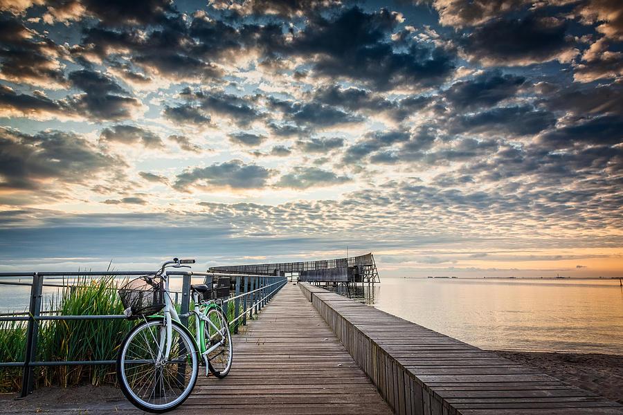 Beach Sunrise II by Stefan Nielsen
