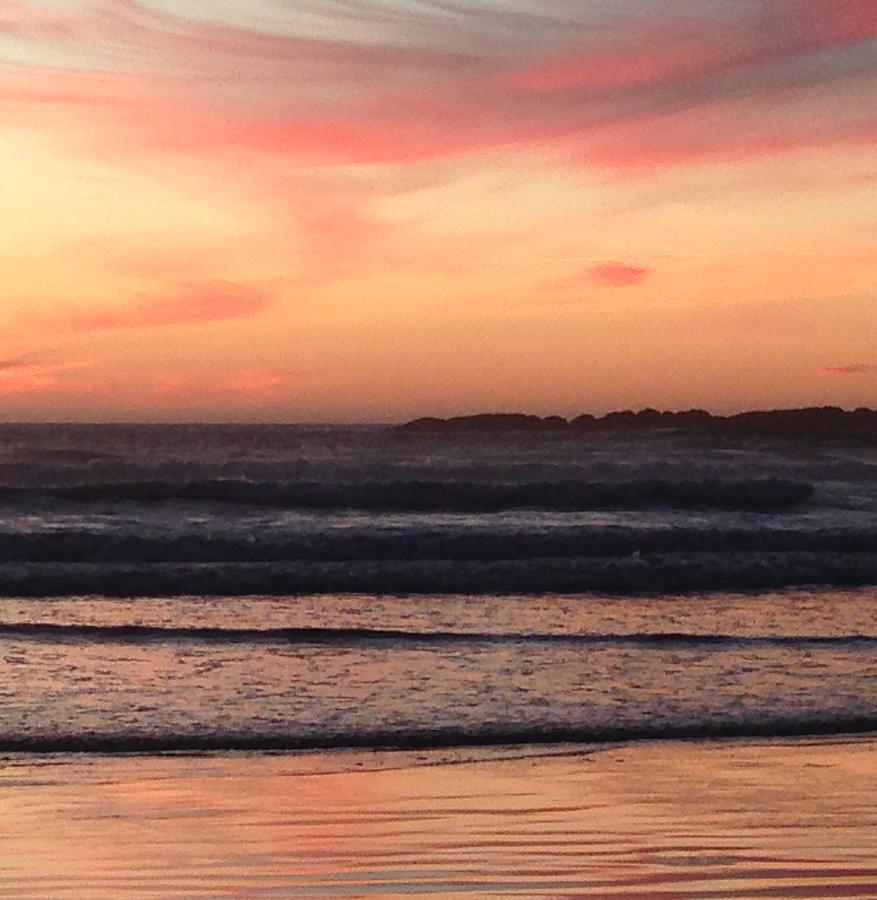 Beach sunset by Shari Chavira