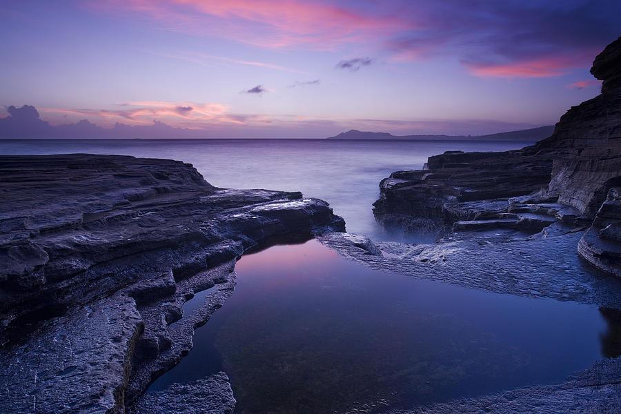 Sunset Photograph - Beach Sunset by Zarija Pavikevik