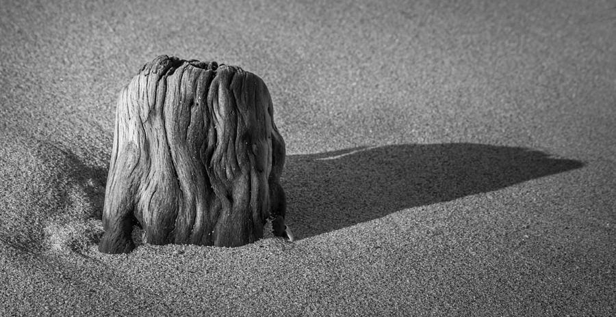 Beach Textures Photograph