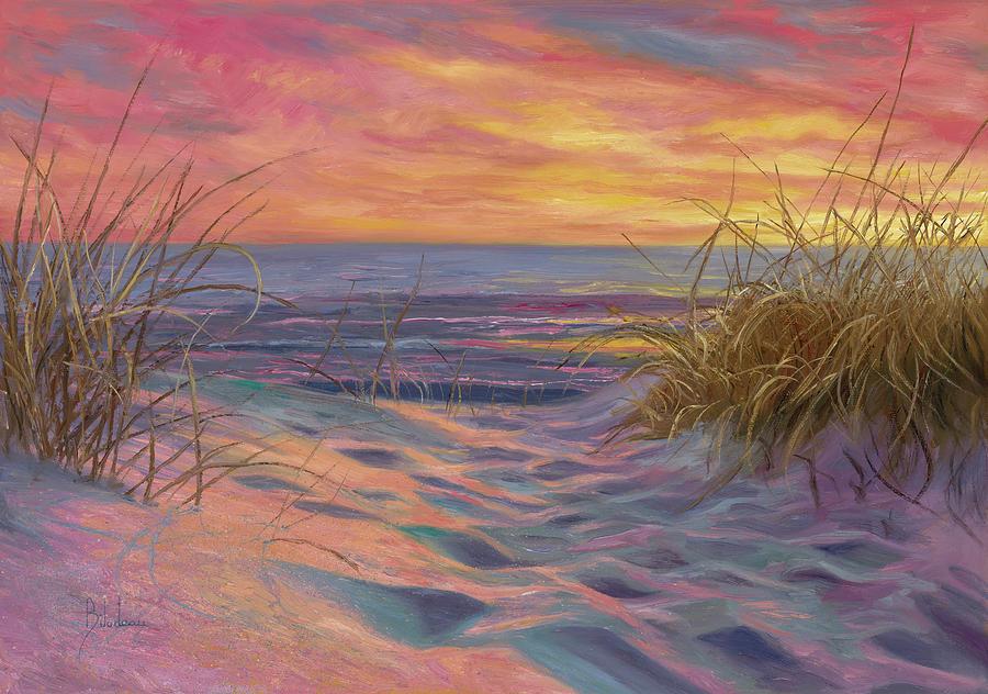 Beach Painting - Beach Time Serenade by Lucie Bilodeau