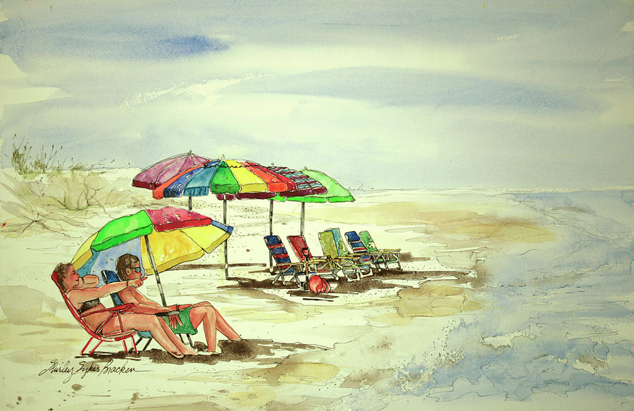 Beach View Painting
