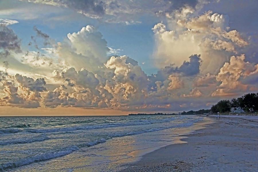 Florida Beaches Photograph - Beach Walk by HH Photography of Florida