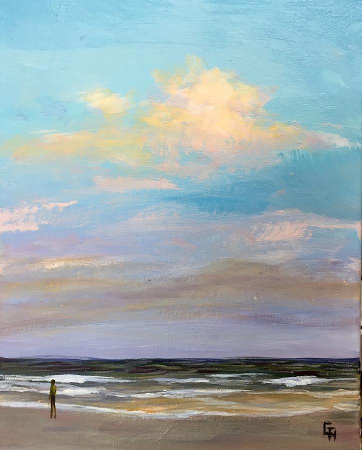 Beachcomber -5PM-1 by Gretchen Ten Eyck Hunt