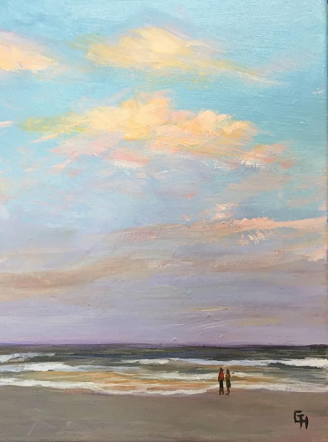 Beachcomber -5PM-2 by Gretchen Ten Eyck Hunt