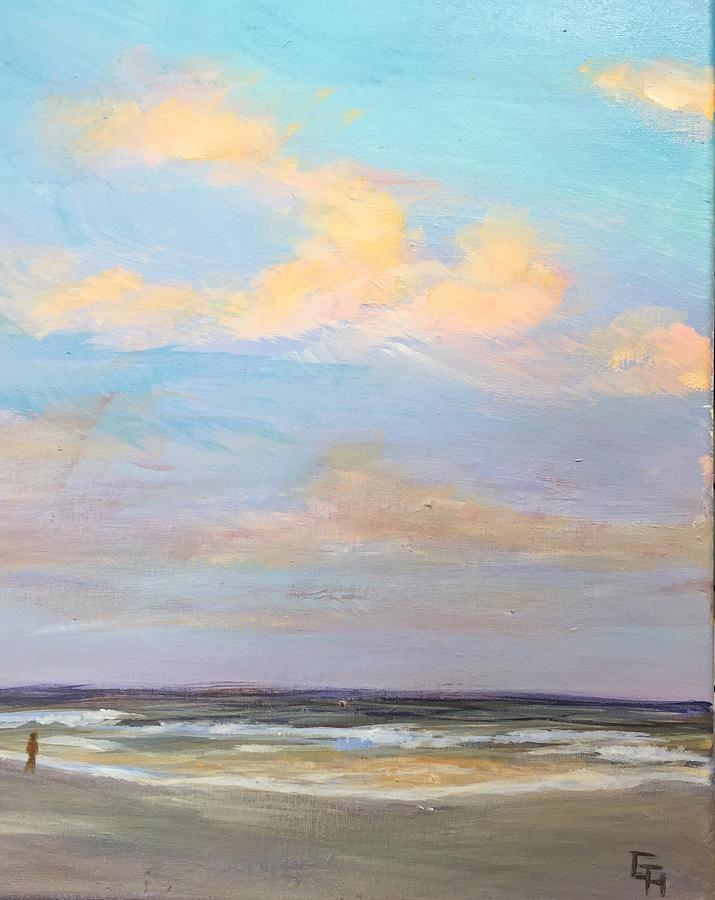 Beachcomber -5PM-3 by Gretchen Ten Eyck Hunt