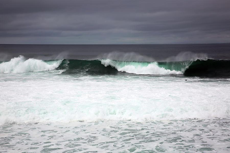 Ocean Photograph - Beachcomber by Robin Street-Morris