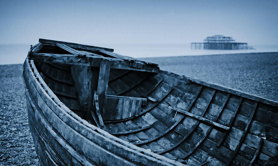 Britain Photograph - Beached At Brighton by Tony Grider