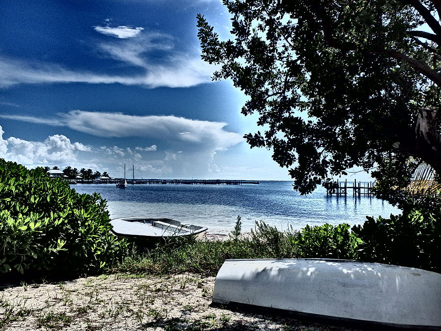 Abaco Bahamas Photograph - Beached by Cindy Ross