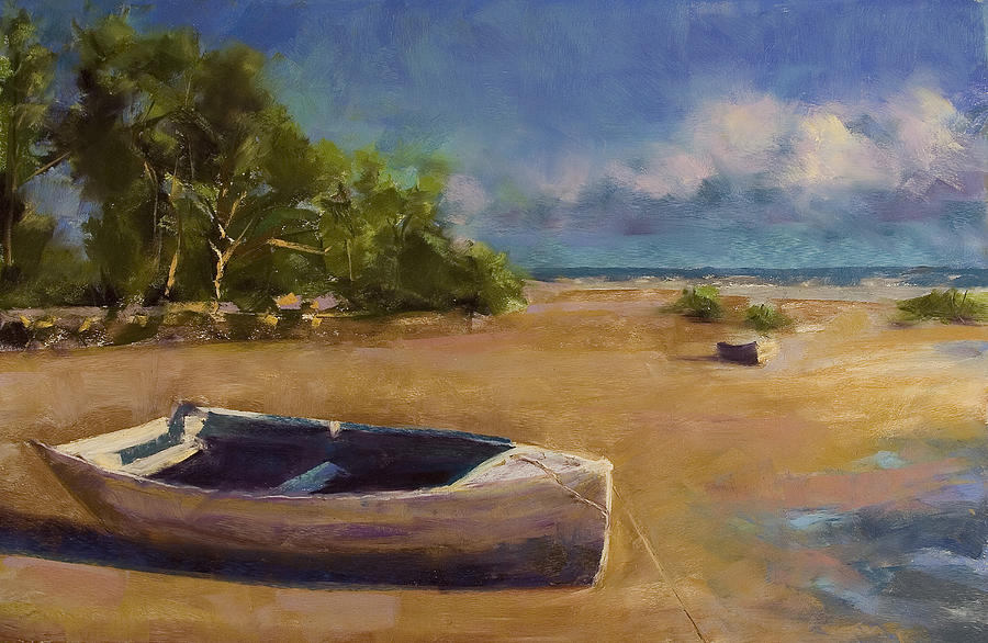 Landscape Painting - Beached by David Patterson