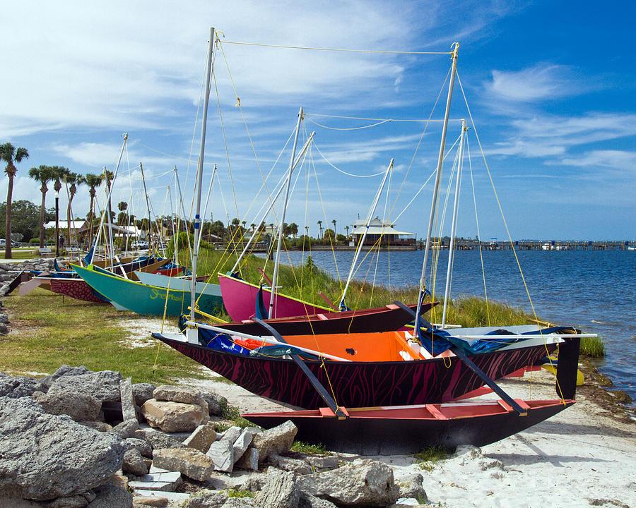 Beached In Sebastian Florida Photograph by Allan  Hughes