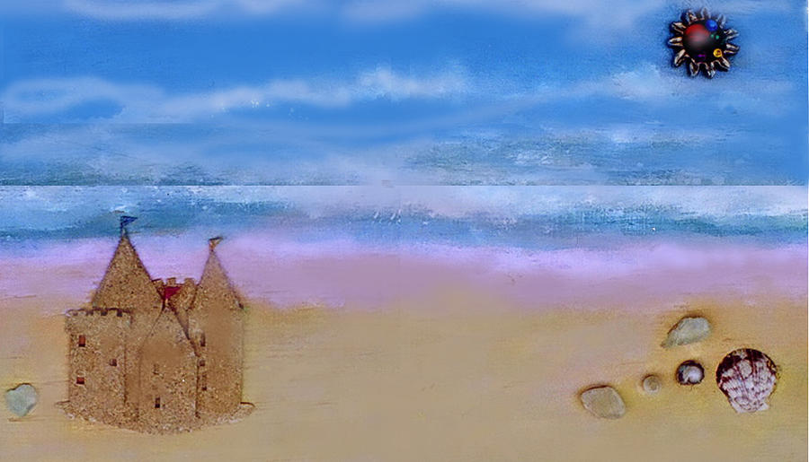 Beaches Castle by Mary Ann  Leitch