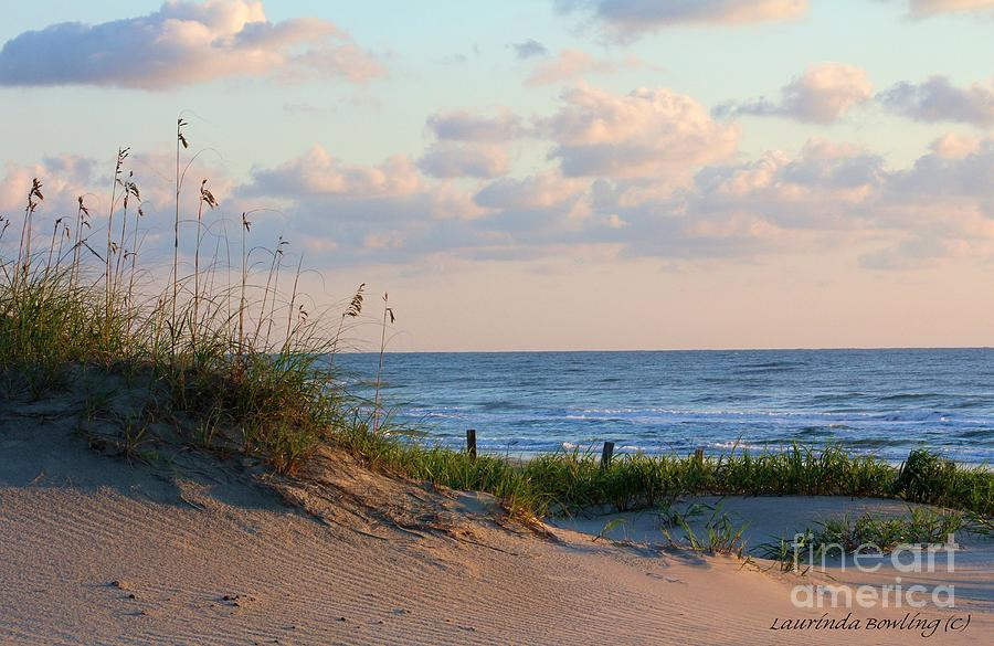 Beach Photograph - Beaches Of Outer Banks Nc by Laurinda Bowling