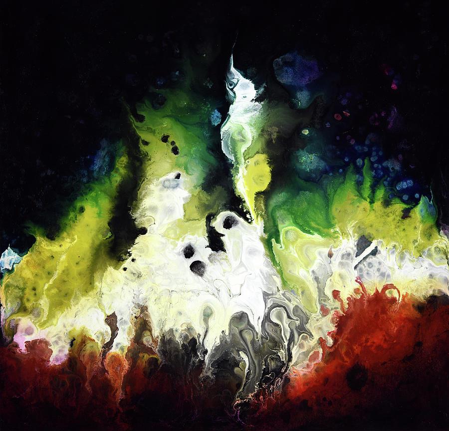 Abstract Painting - Beacon by Dion Kurczek