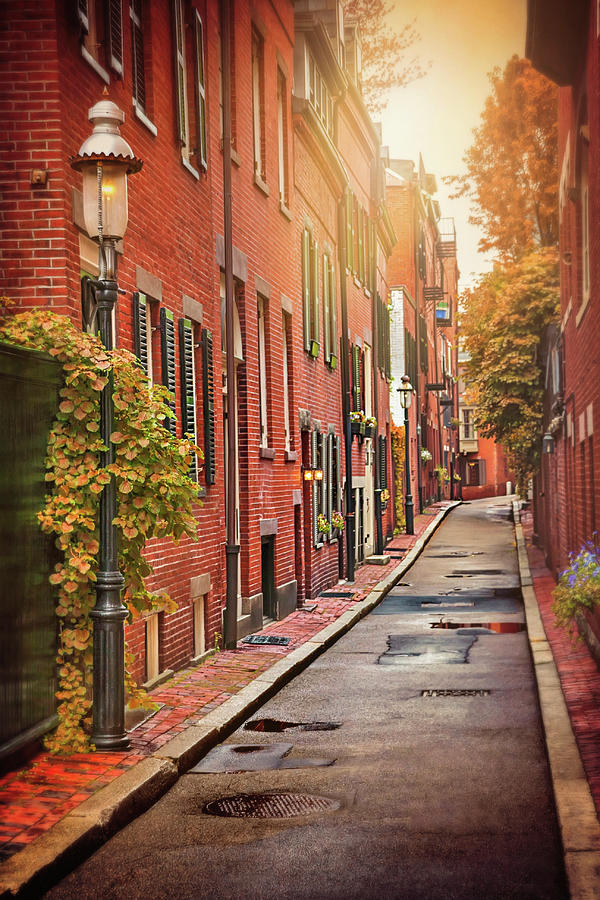 Beacon Hill Area of Boston  by Carol Japp
