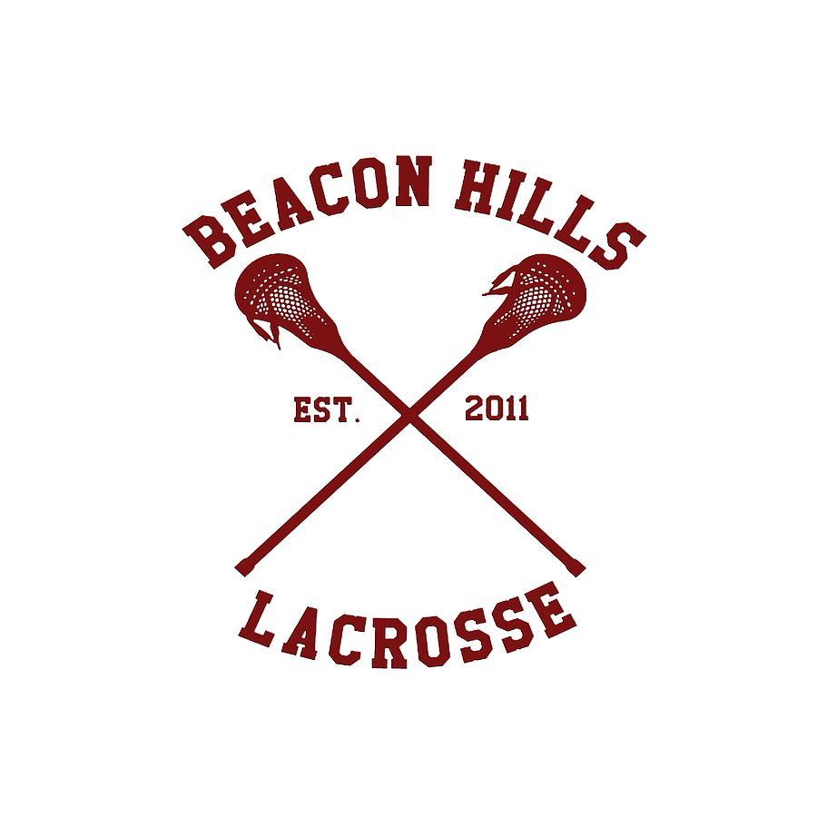 Beacon Hills Est 2011 Lacrosse Teen Wolf Team Digital Art ...