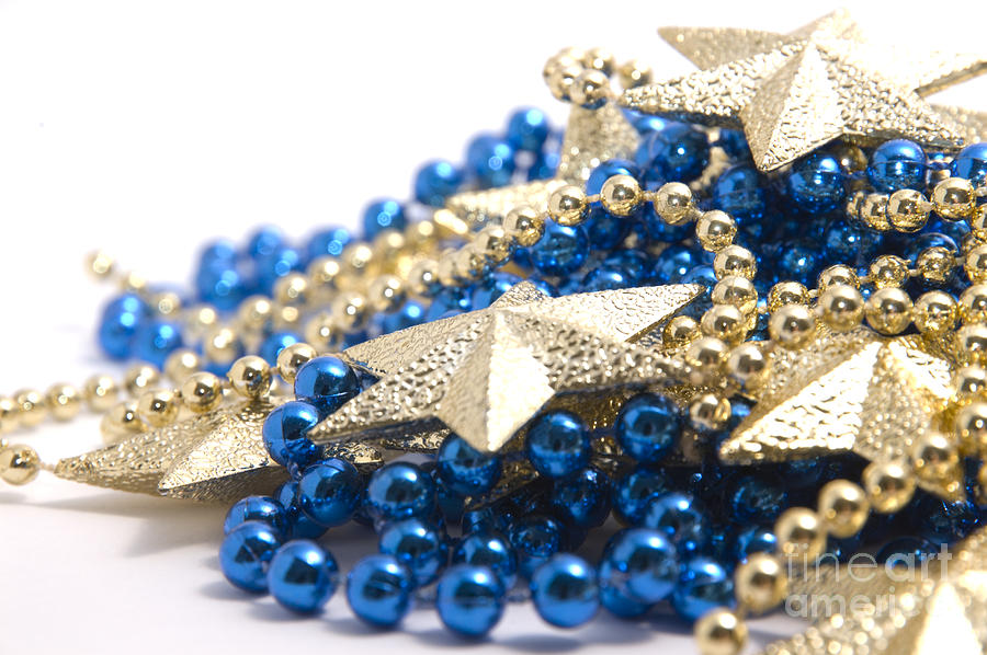 Stars Photograph - Beads And Stars by Andy Smy