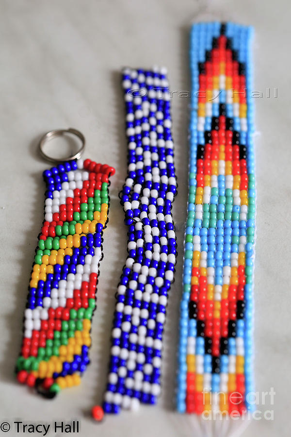 Beads Photograph - Beadwork by Tracy Hall