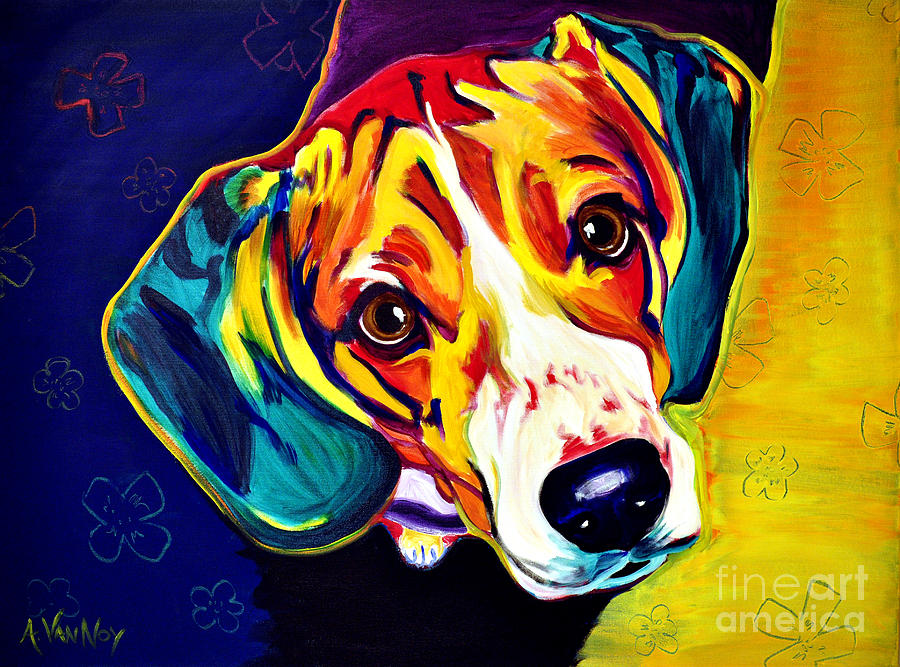 Beagle - Bailey by Alicia VanNoy Call
