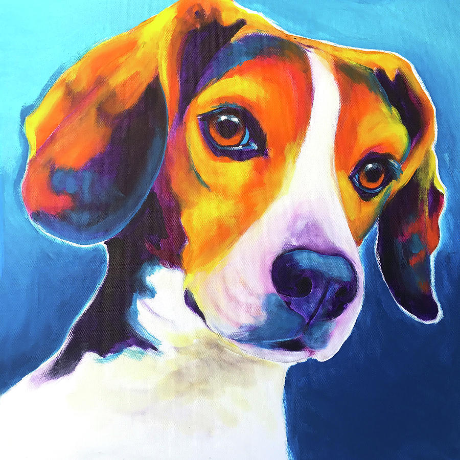 Beagle - Martin by Alicia VanNoy Call