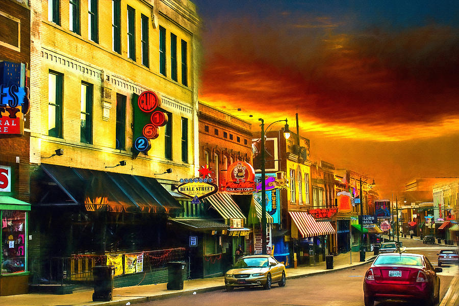Beale Street - Home of the Blues - 2 by Barry Jones