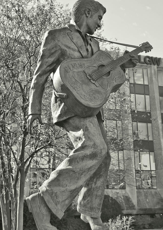 Elvis Photograph - Beale Street Muse by JAMART Photography