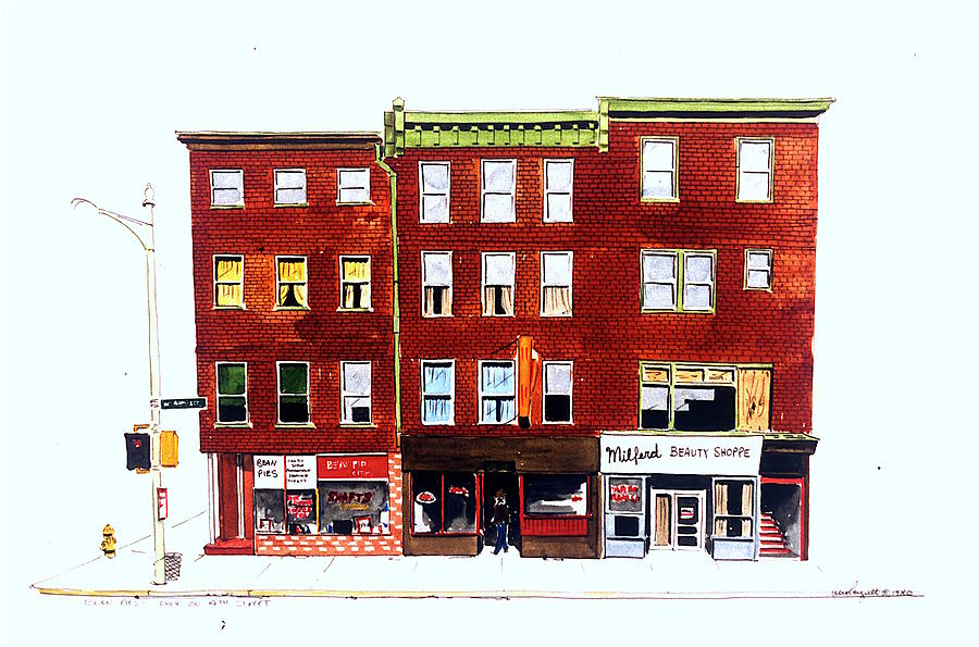 Wilmington De Painting - Bean Pies by William Renzulli