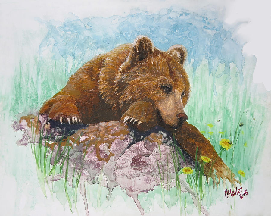 Bear and the Bumble Bee by Marcus Moller