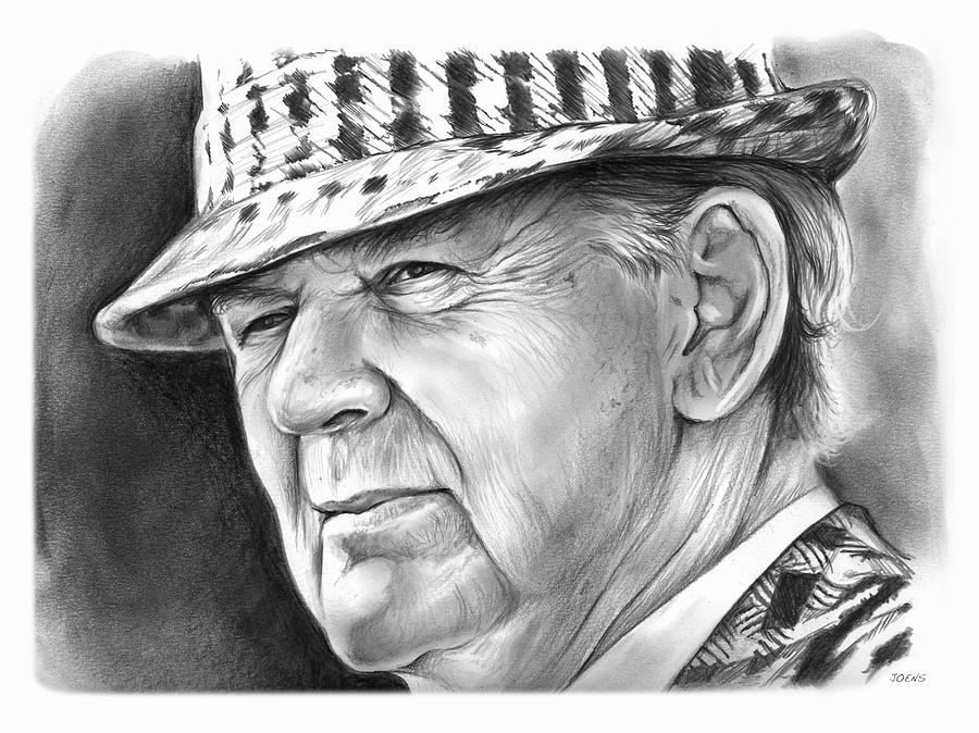 Bear Bryant 2 Drawing