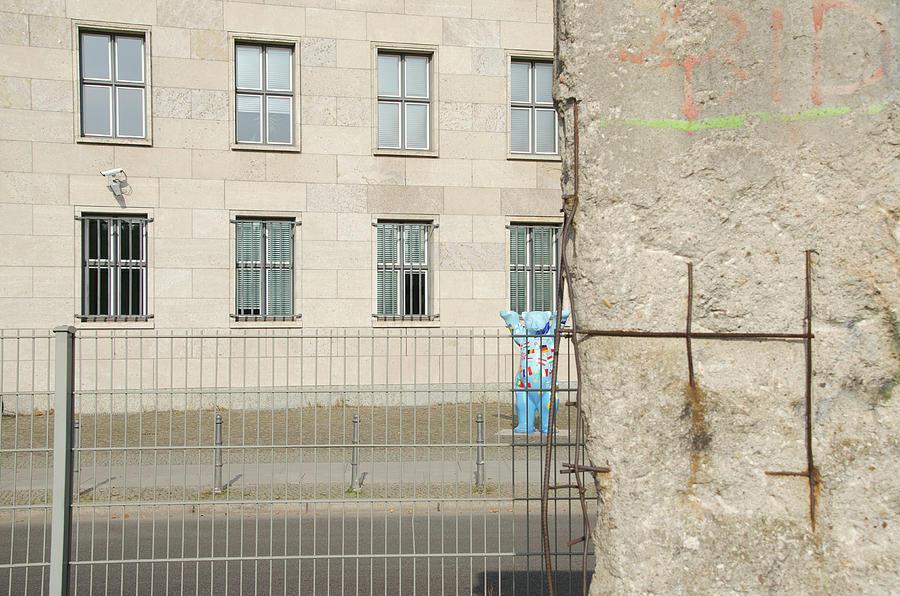 Bear by Berlin Wall by Erik Burg