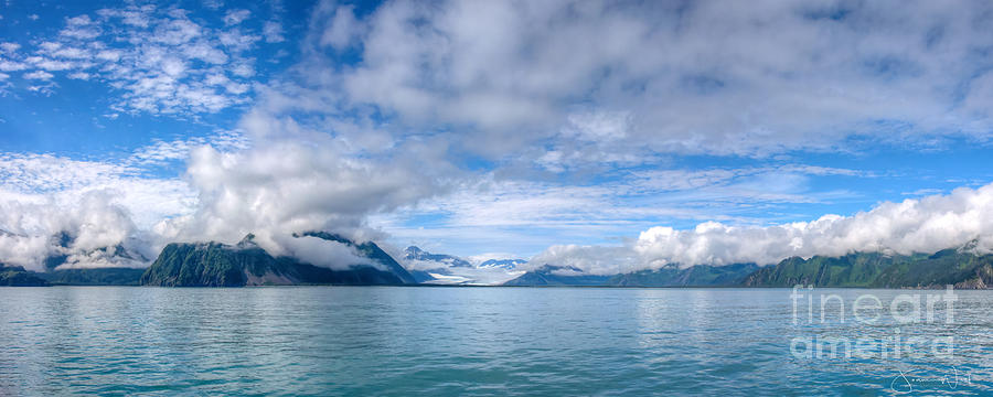 Bear Glacier, Resurrection Bay Alaska by Joanne West