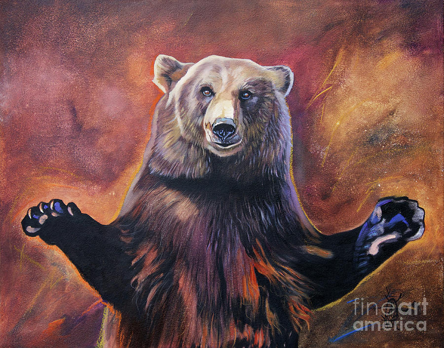 Bear Hugs by J W Baker