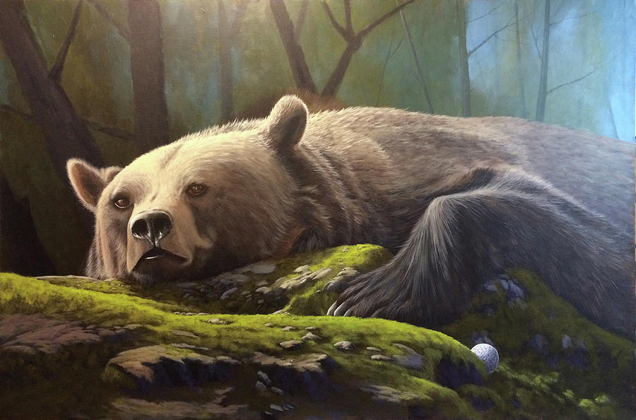 Bear II Painting