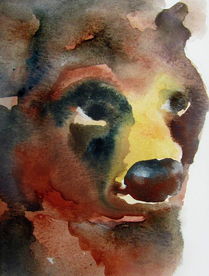 Bear Painting by James Huntley
