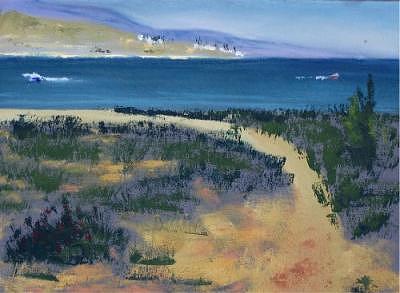Plein Air Painting - Bear Lake by Julieanne Nielsen