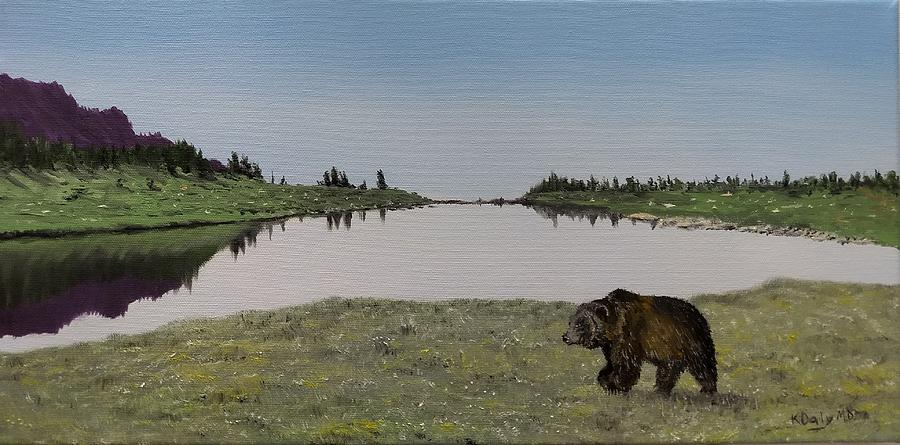 Bear Reflecting by Kevin Daly
