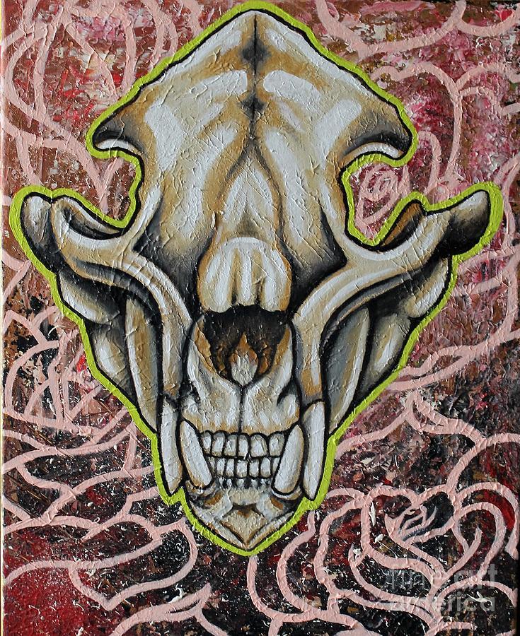 Bear Skull by Dan Gee
