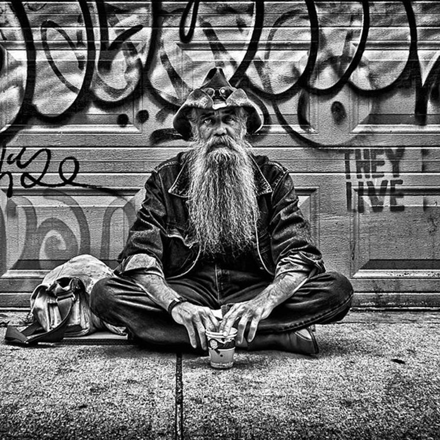 Toronto Photograph - Beard (one Of The Best Ever). A by Brian Carson