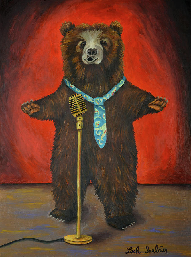 Bearitone by Leah Saulnier The Painting Maniac