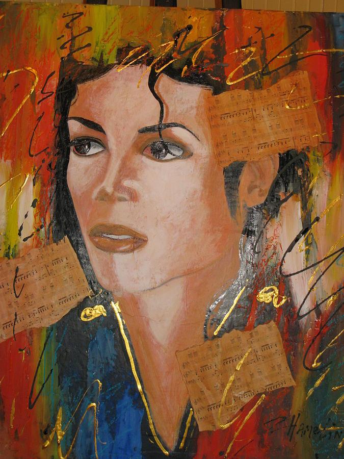 Portrait Mixed Media - Beat It by Marcelle Hamelin