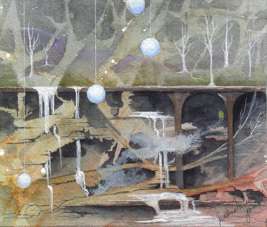 Fantasy Landscape Painting - Beatas Destiny by Jackie Mueller-Jones