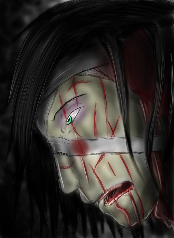 Pain Digital Art - Beaten And Defeated by Nicholas Sharpe