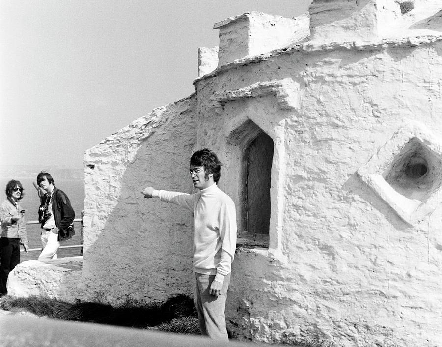 Beatles John Lennon Magical Mystery by Chris Walter