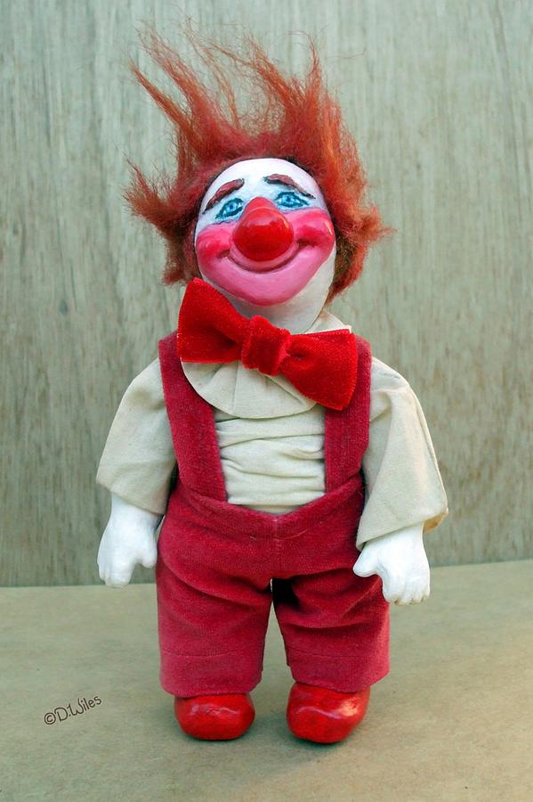 Clown Sculpture - Beau by David Wiles