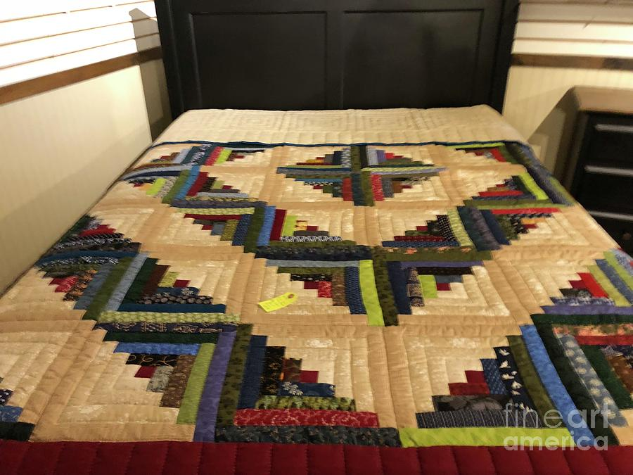 Amish Photograph - Beautiful Amish Quilt by Christine Clark