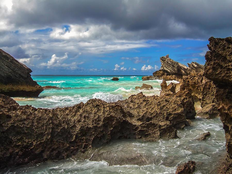 Atlantic Photograph - Beautiful Bermuda by Lori Coleman